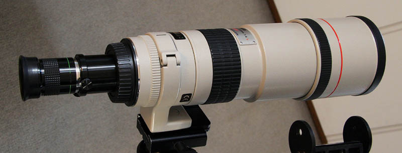 Turn your camera lens into a grab and go - DIY Astronomer ...