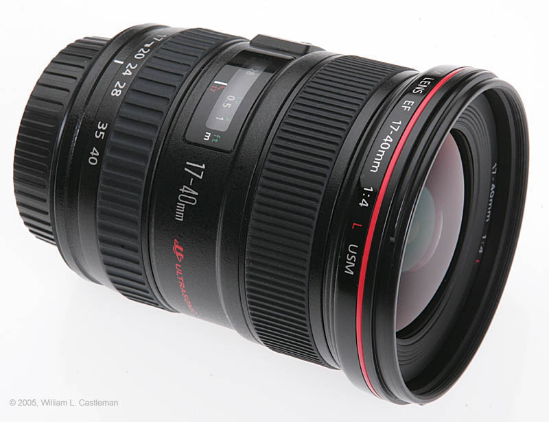 review of the canon ef 17 40mm f 4l usm lens